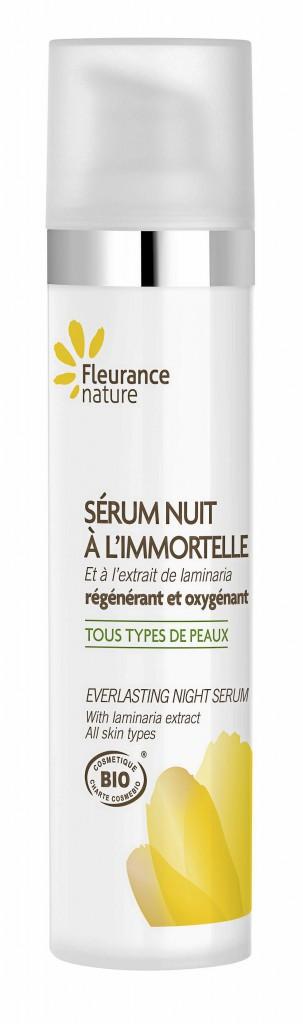 Une peau parfaite : Sérum Nuit à l'immortelle, Fleurance Nature 11,15 €