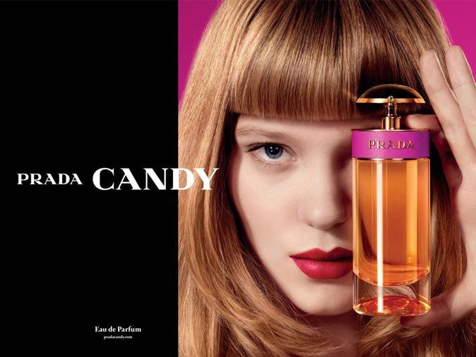 Léa Seydoux pour Prada