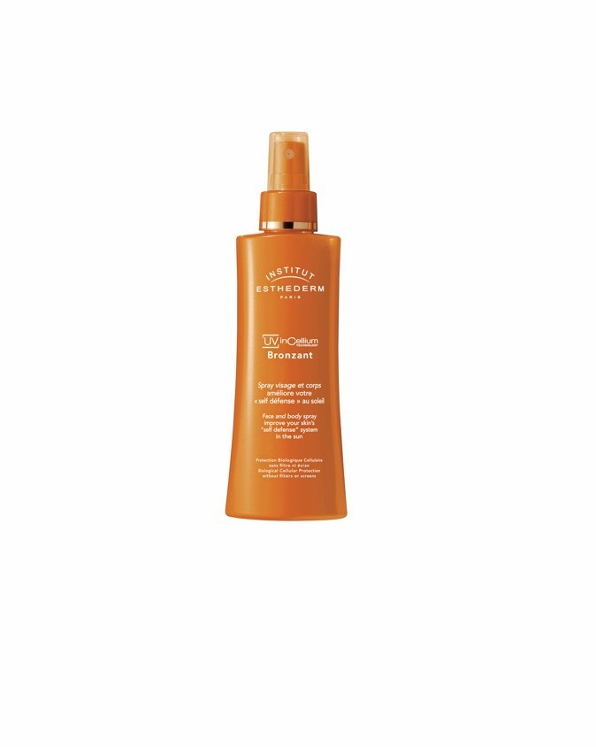 Spray bronzant UV inCellium, Esthederm 49 €