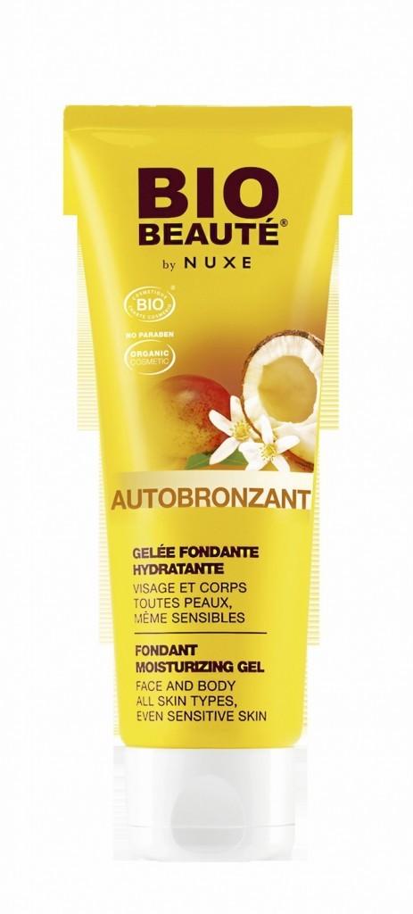 Gelée hydratante autobronzante, Nuxe 13,50 €