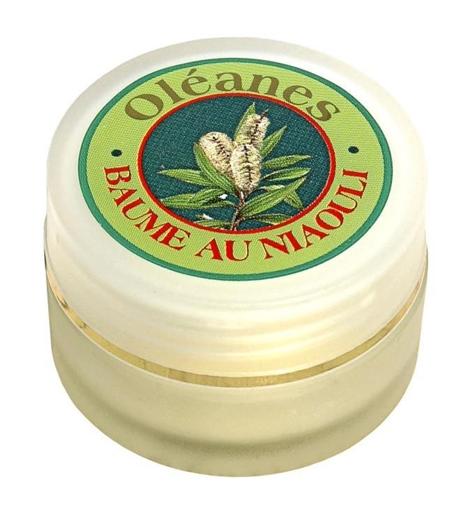 Baume de massage au niaouli. Oléanes. 19€