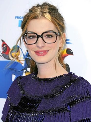 J'ai des lunettes oversize comme Anne Hathaway !