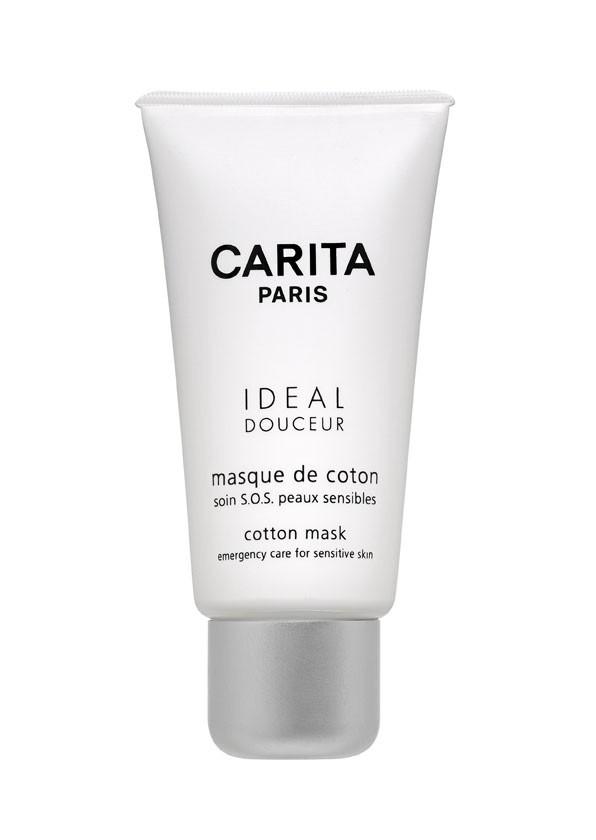 Masque de coton peaux sensibles, Carita. 42,10 €.