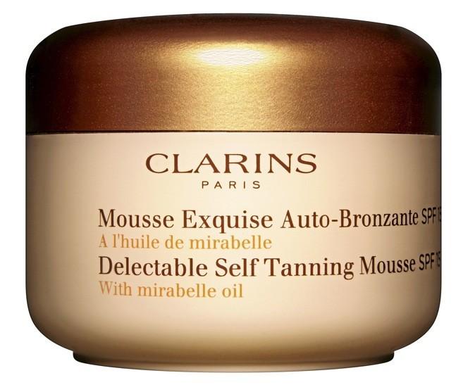 Mousse exquise autobronzante, Clarins 35,40 €