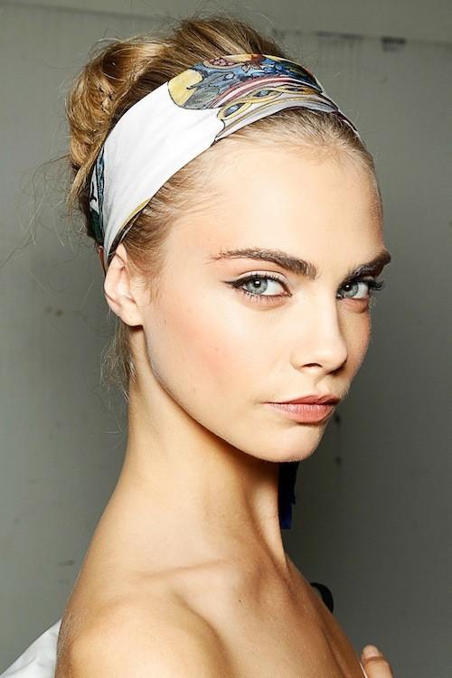 Cara Delevingne : en backstage Dolce & Gabbana