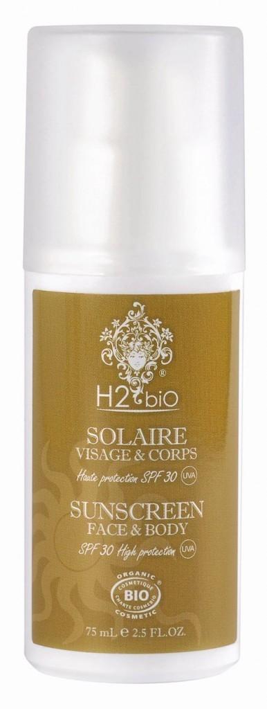 Soin solaire Visage & Corps H2 biO 24,90 €