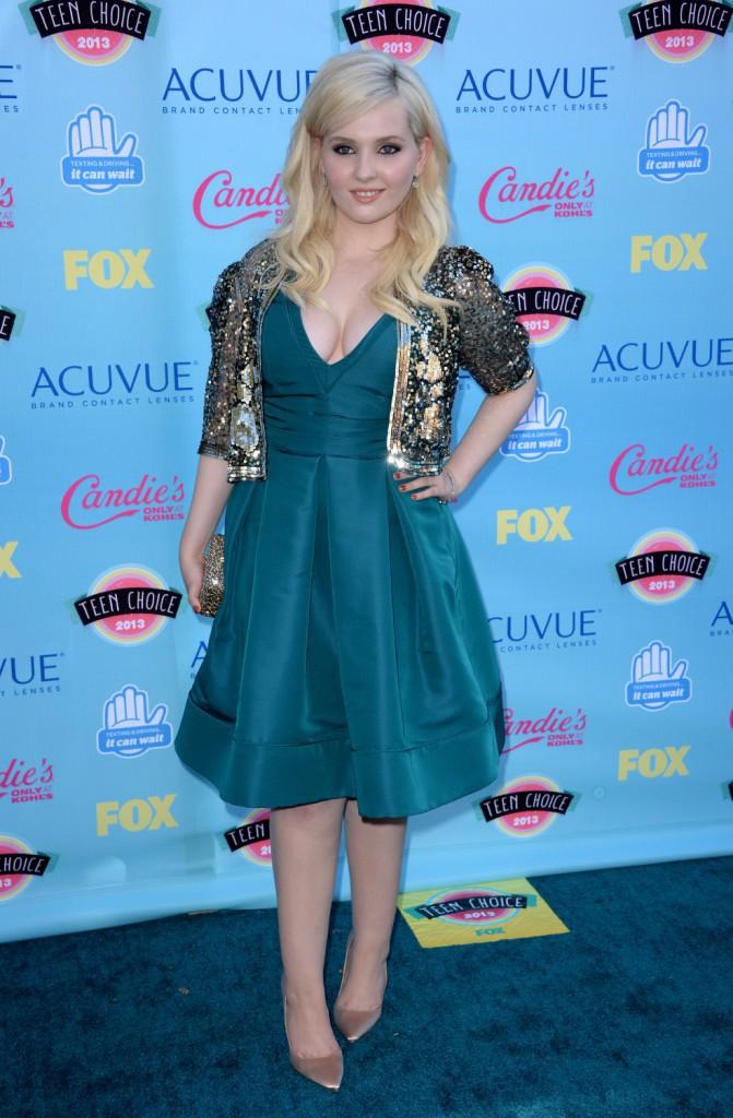 Abigail Breslin aux Teen Choice Awards 2013 !