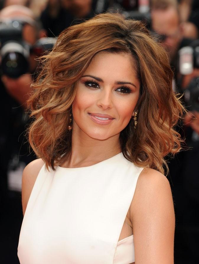 Festival de Cannes 2011 : la coiffure cheveux wavy de Cheryl Cole en 2010 !