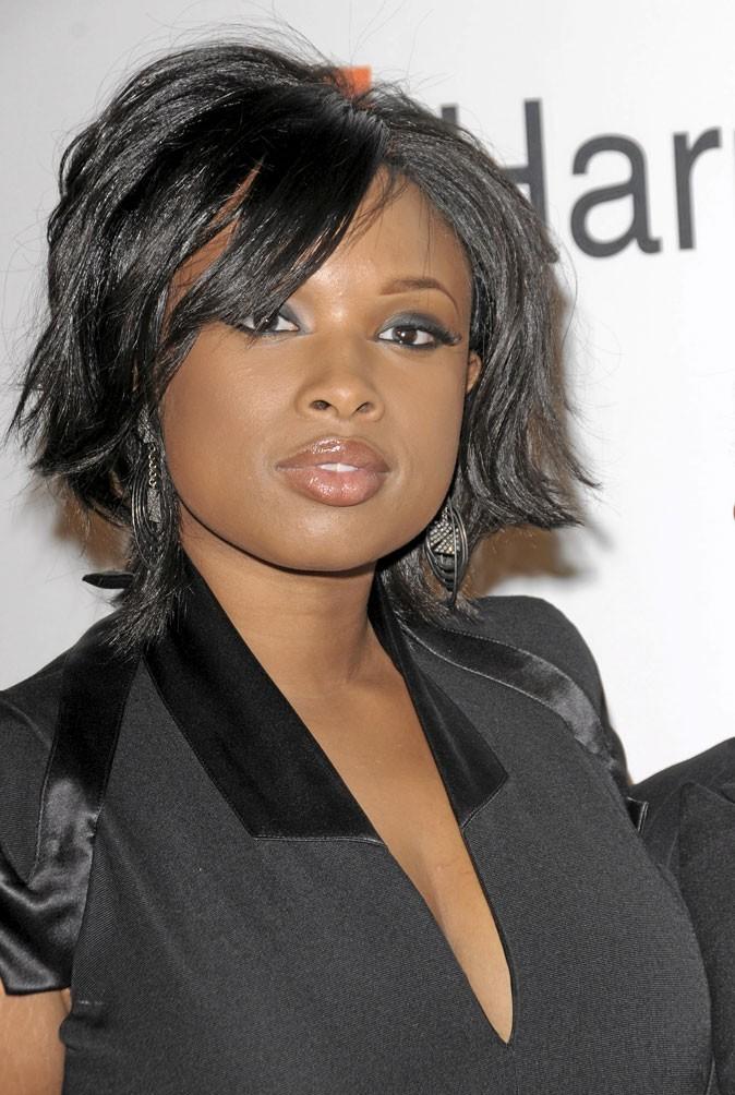 Cheveux afro : le carré ébouriffé de Jennifer Hudson