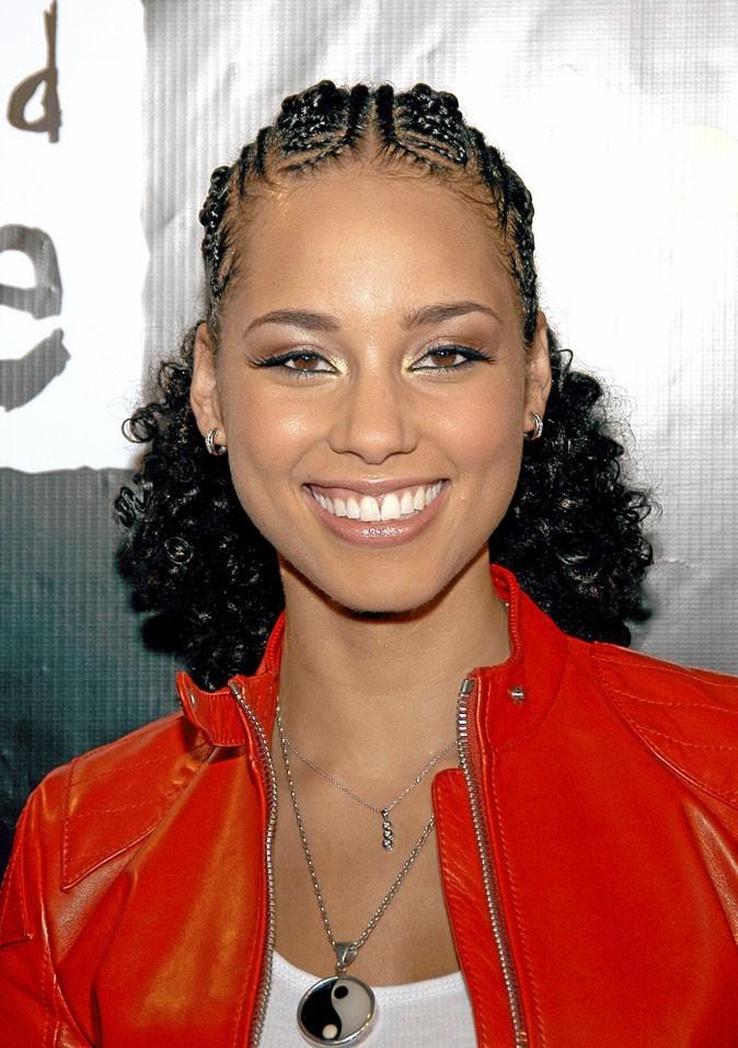 Cheveux afro : les tresses d'Alicia Keys