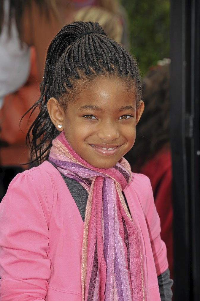 Cheveux afro : les tresses de Willow Smith