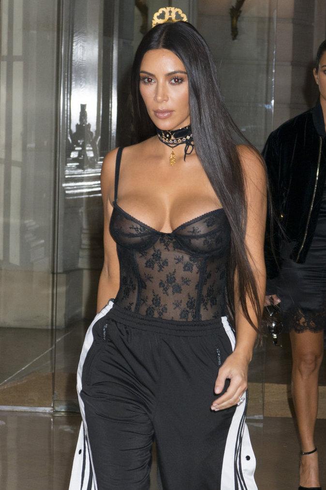 Cheveux : Tendance : La crinière interminable : Kim Kardashian