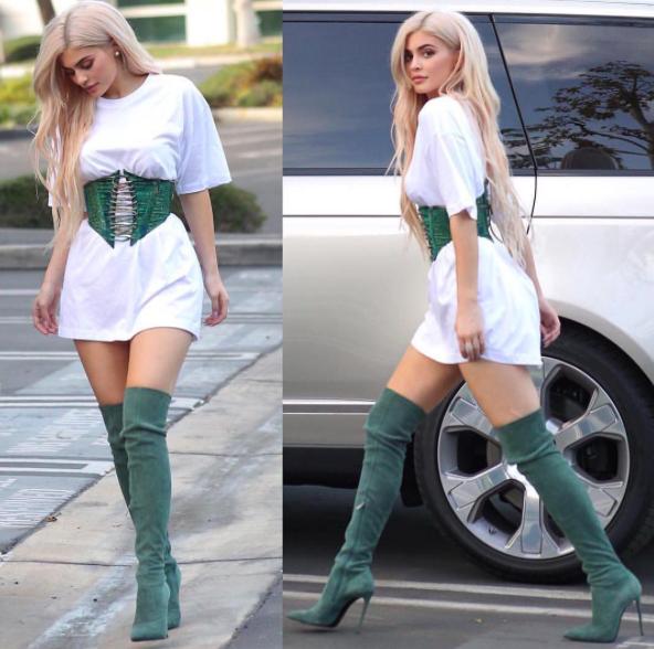 Cheveux : Tendance : La crinière interminable : Kylie Jenner