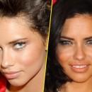 Adriana Lima : avant/après une chirurgie du nez