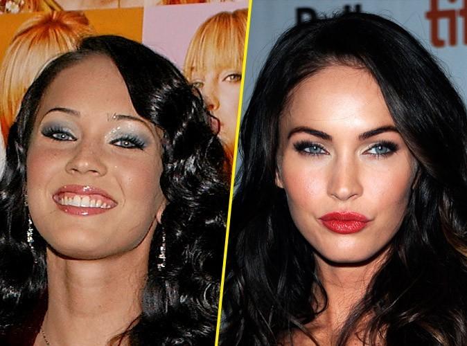 Megan Fox : avant/après une chirurgie du nez et des pommettes