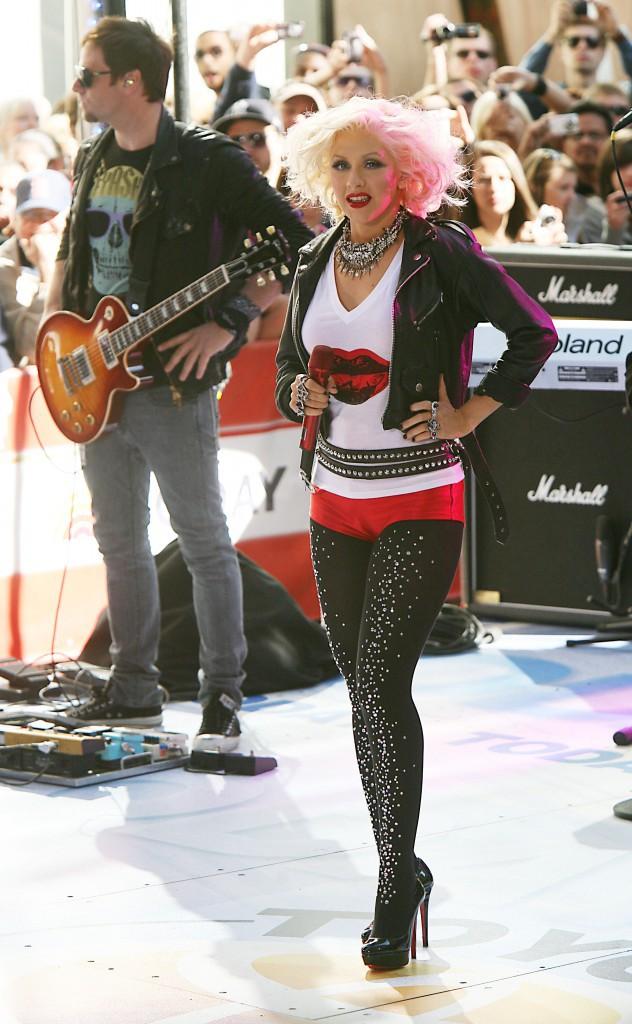 Christina n'est plus celle qu'elle était à ses débuts !