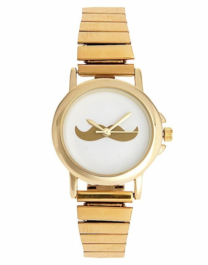 Montre moustache, asos.com 31,30 €