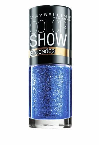 Coup de coeur : Vernis à ongles bleu, Collection Brocades, Color Show, Gemey-Maybelline, 3,80 €