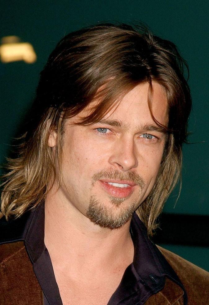 Barbe de Brad Pitt :  un bouc en 2002