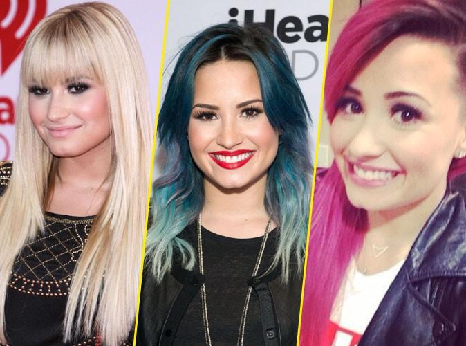 Demi Lovato et ses nombreux changements capillaires !