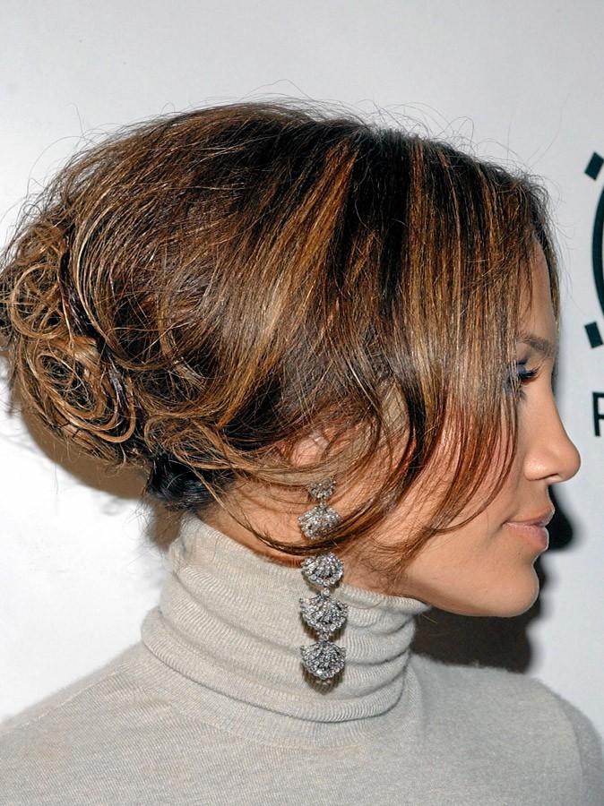Coiffure de star : le chignon gonflé de Jennifer Lopez en 2005 !