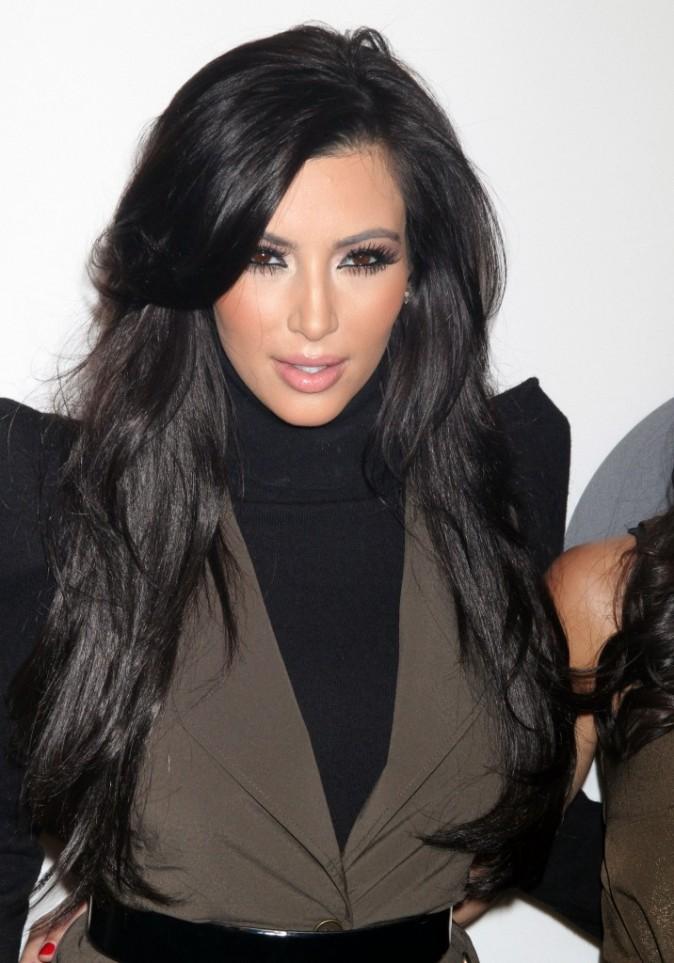 Coiffure de star le cv capillaire de kim kardashian - Coiffure long degrade ...