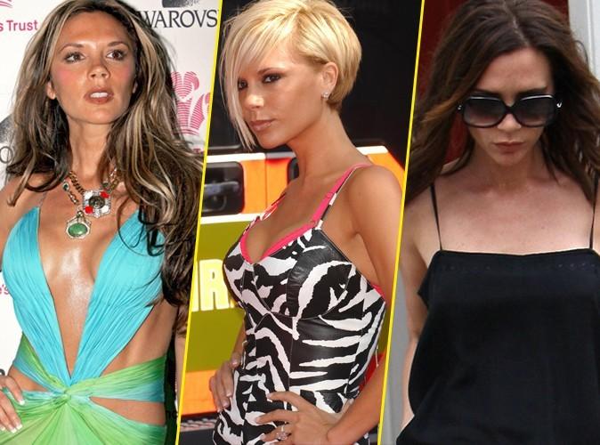 Les coiffures de Victoria Beckham de 1998 à 2012 !