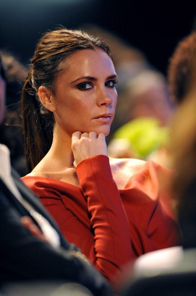 La queue-de-cheval tirée de Victoria Beckham en 2010 !