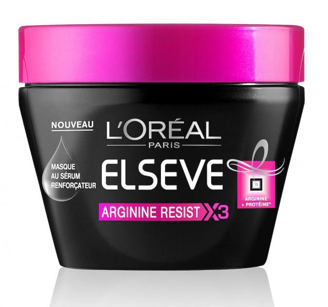 Masque, Arginine Resist X3, Elsève, L'Oréal Paris 6,70 €