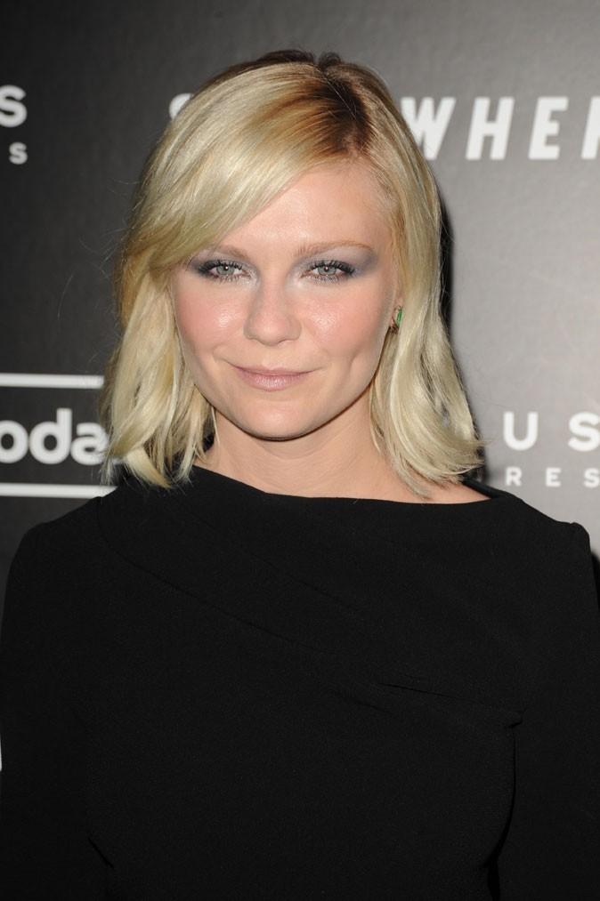 Coiffure de star : les cheveux blond naturel de Kirsten Dunst