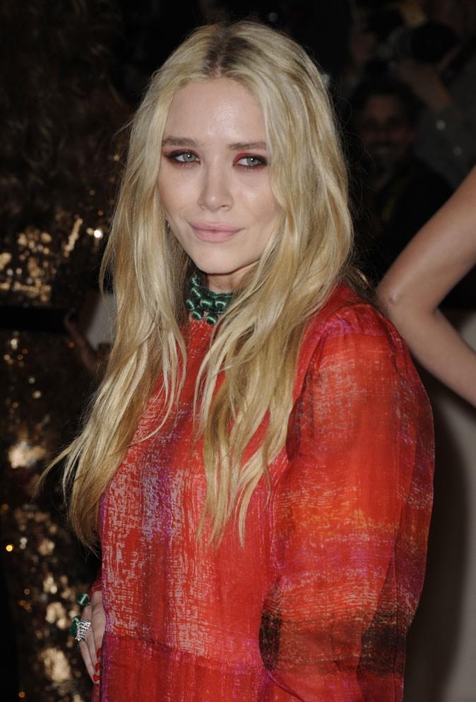 Coiffure de star : les cheveux blonds de Mary-Kate Olsen