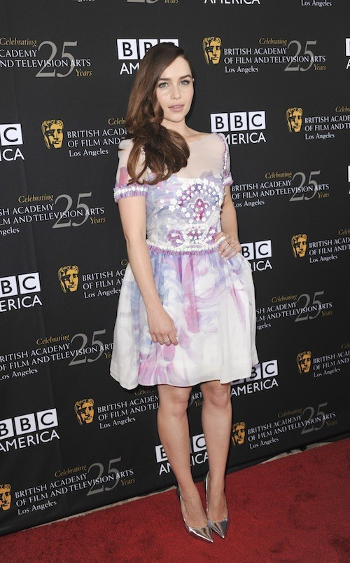 Emilia Clarke le 23 septembre 2012 !