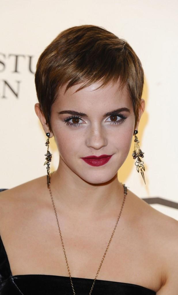 La coupe courte glam' d'Emma Watson en Novembre 2010 !