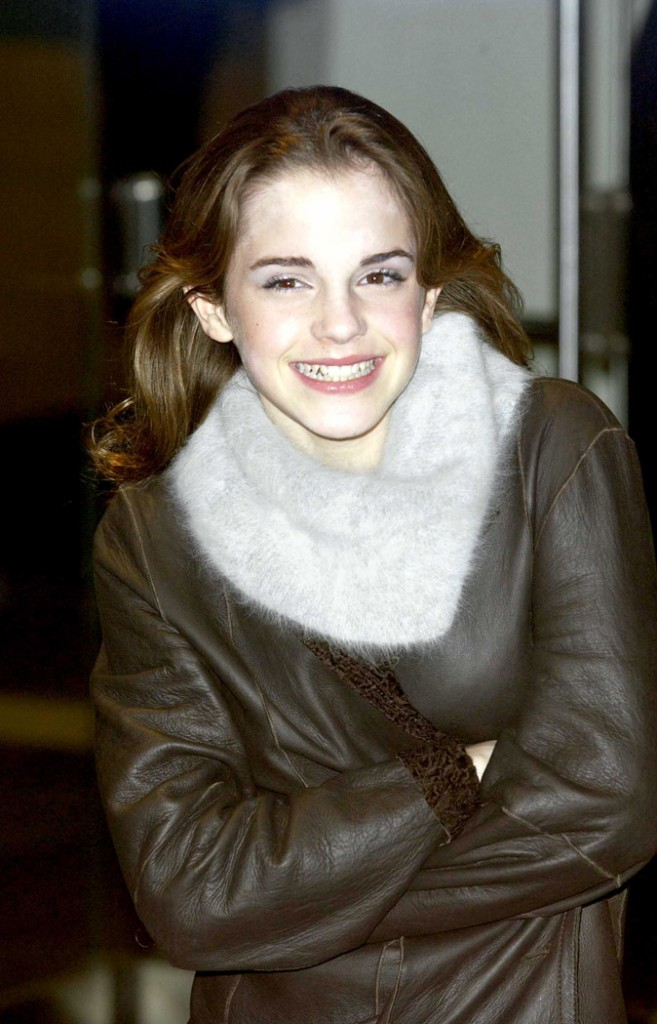 Le brushing d'Emma Watson en Décembre 2003 !