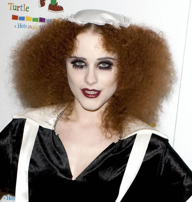 Evan Rachel Wood : des cheveux roux pour Halloween en octobre 2010