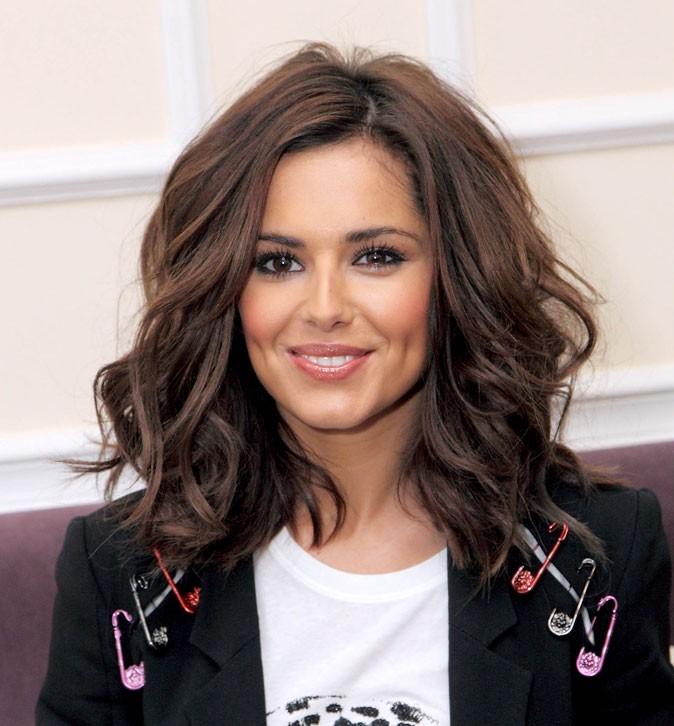 Coiffure de Cheryl Cole en février 2010 : des longueurs wavy