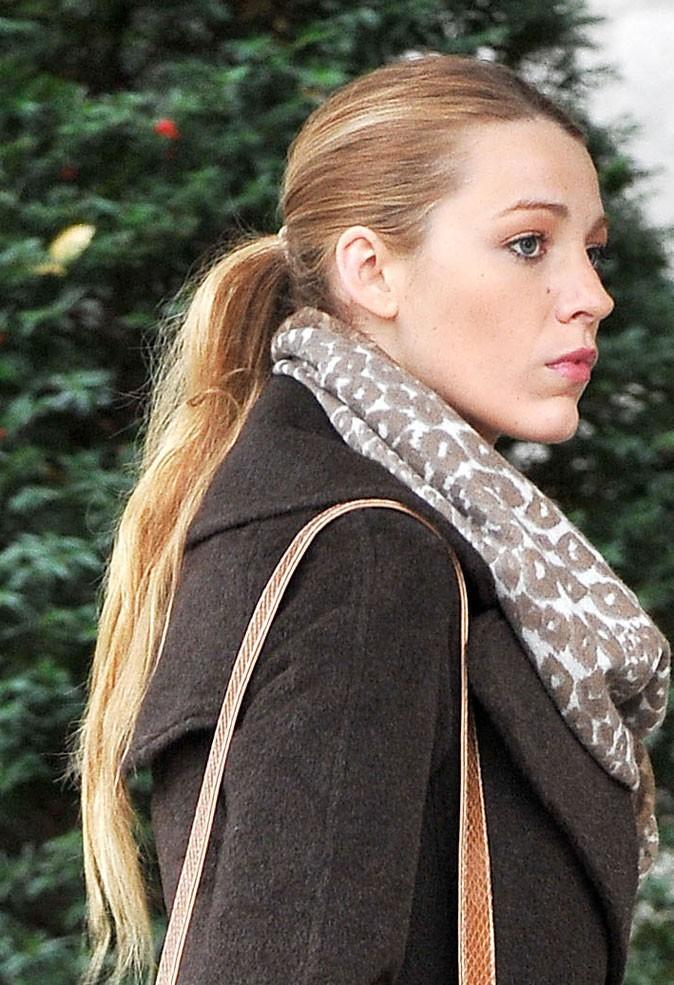 Coiffures de Blake Lively : une queue de cheval plaquée dans Gossip Girl !