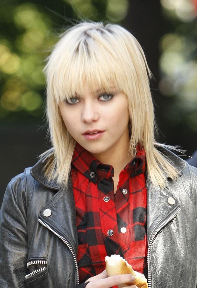 Coiffures de Taylor Momsen : une frange rock dans Gossip Girl !