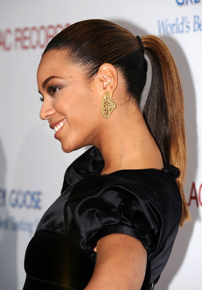 La queue-de-cheval glamour de Beyoncé en Novembre 2008 !