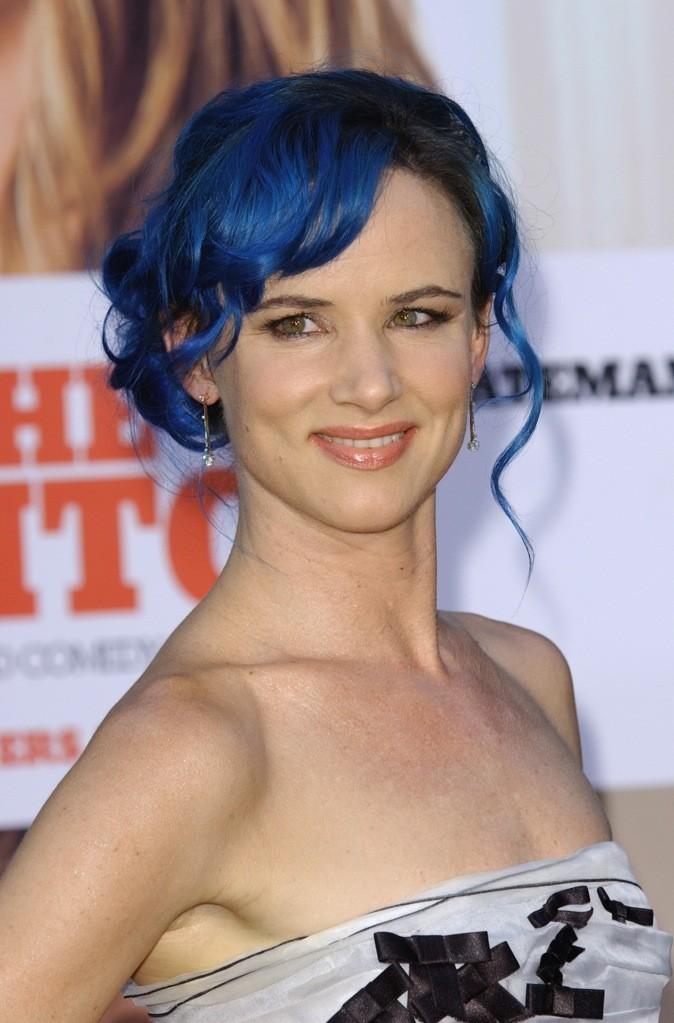 Août 2010 : Juliette Lewis avec les cheveux bleus