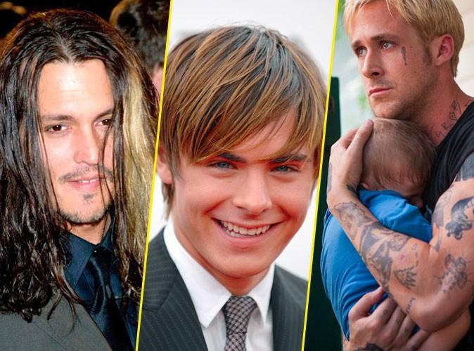 coiffures de stars les cheveux colors ou dcolors russissent ils aux hommes - Eclaircir Cheveux Colors