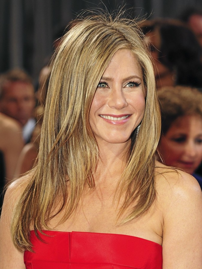 Le long degrade de Jennifer Aniston