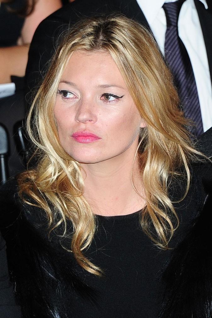 Kate Moss sans frange