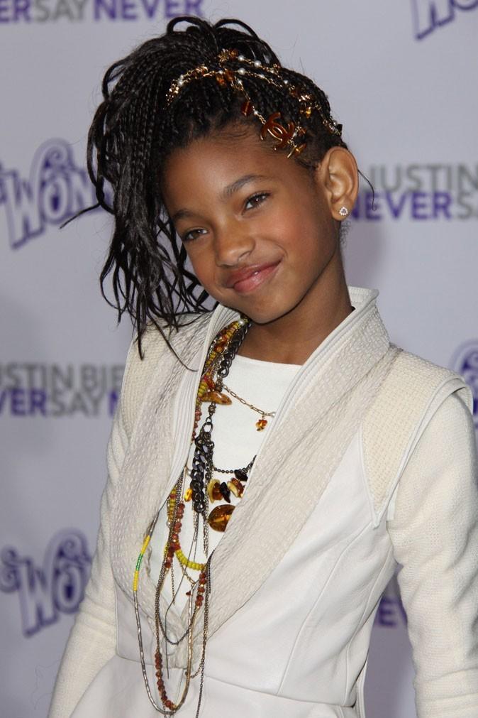 La coiffure siglée Chanel de Willow Smith en février 2011 !