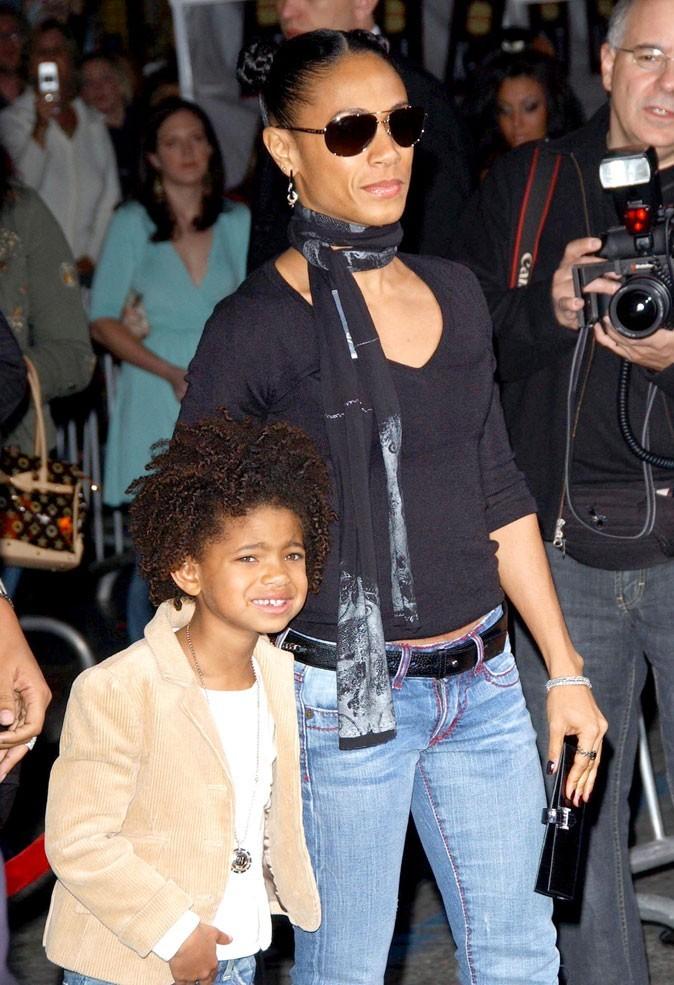 La petite bouille et les cheveux afro de Willow Smith en Février 2006 !
