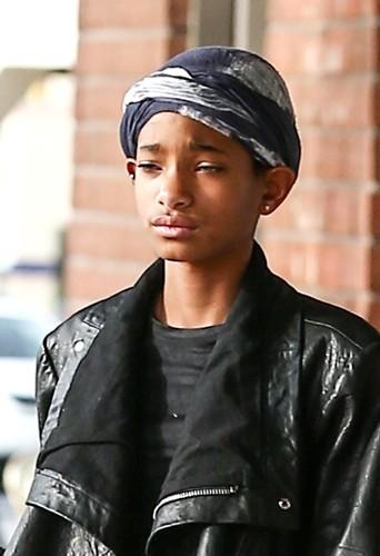 Un turban pour Willow Smith le 22 janvier 2013 !