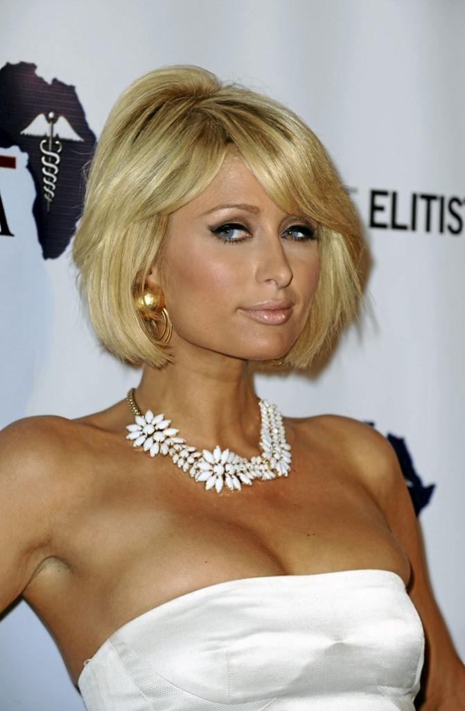 Paris Hilton : cheveux naturels...