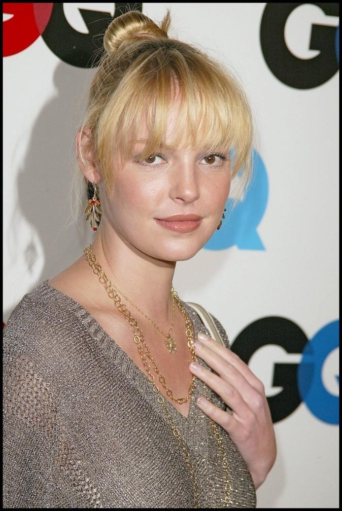coiffures de katherine heigl   blonde ou brune  comment la
