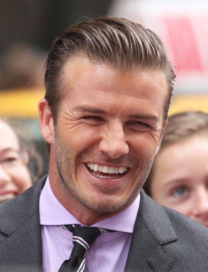 Dents de stars : le sourire de David Beckham aujourd'hui !