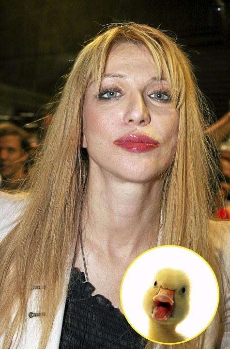 Courtney Love : entre Gollum et Goulue, son cœur balance…